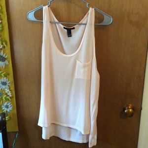 Forever 21 F21 Tunic Tank Sheer L fits like S